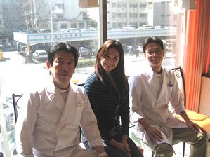 下川先生とケリーさん